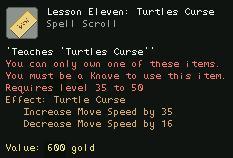 Lesson Eleven Turtles Curse