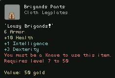 Brigands Pants