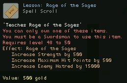 Lesson Rage of the Sages