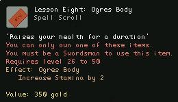 Lesson Eight Ogres Body