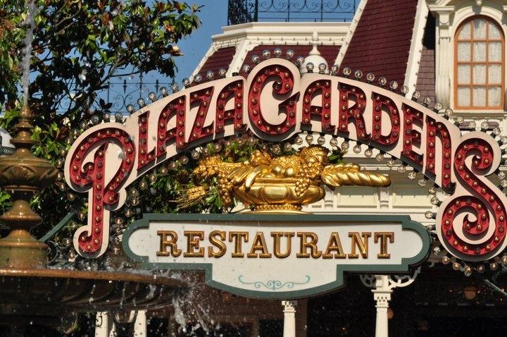 Plaza Gardens Restaurant Location Disneyland Paris