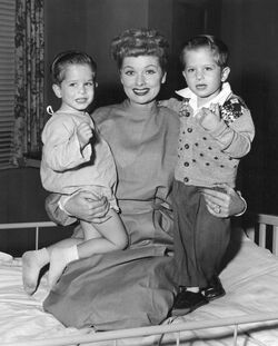 Lucille Ball I love Lucy Little Ricky actors 1955