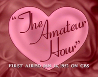 The Amateur Hour