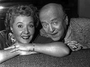 Fred and Ethel Mertz