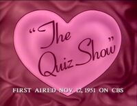 The Quiz Show