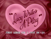 Lucy Writes a Play