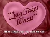 Lucy Fakes Illness