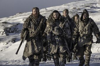 Jon e compagni Oltre la Barriera