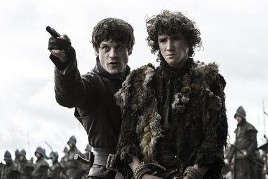 Ramsay e Rickon Battaglia dei Bastardi