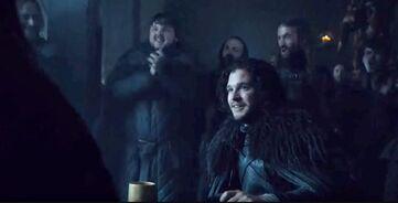 Jon è eletto Lord Comandante