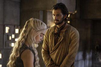 Dany e Daario a Meeren