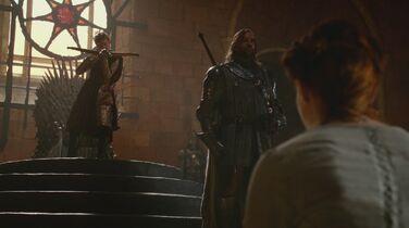Joffrey minaccia Sansa