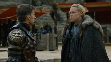 Brienne parla con Jaime S7