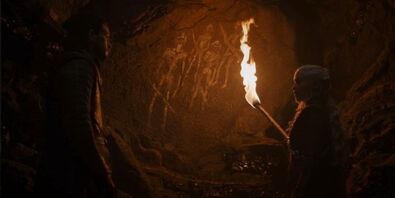 Jon Daenerys pitture rupestri