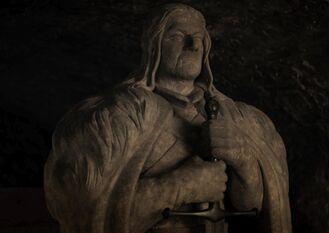 Eddard Stark statua