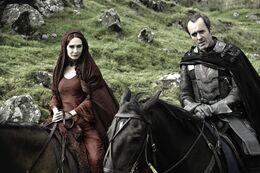 Melisandre e stannis stagione 2