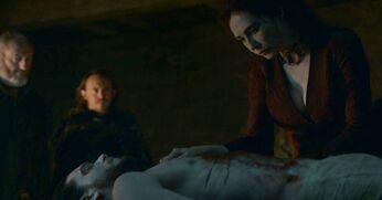 Melisandre resuscita jon 6x01
