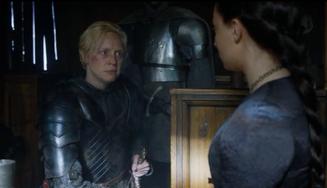 Brienne giura fedeltà a Sansa