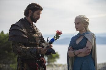 Daario and daenerys stagione 4