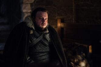Sam parla con Bran