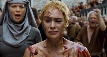 Cersei cammino dell'espiazione