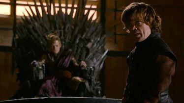 Tyrion e Joffrey