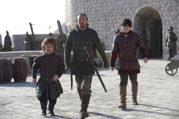 Tyrion, Bronn e Podrick