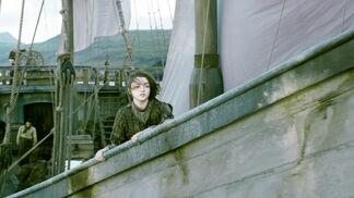 Arya Stark nave Braavos