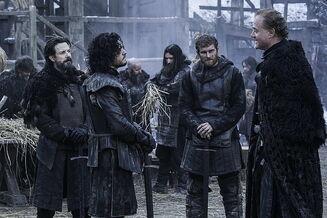 Alliser Thorne vs Jon Snow S4