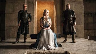 Jorah and daenerys stagione 4