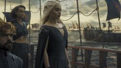 Daenerys, tyrion and missandei 6x10