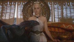 Daenerys and drogon 3x03