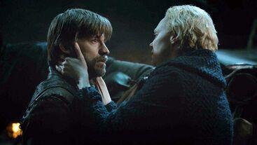 Jaime e Brienne ultimo saluto