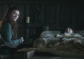 Catelyn veglia su Bran