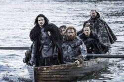 Jon snow and tormund 5x08