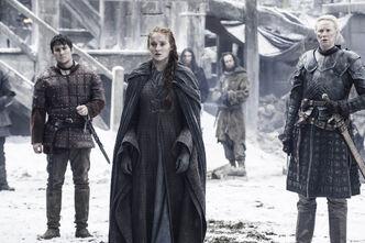 Podrick, Sansa e Brienne S6