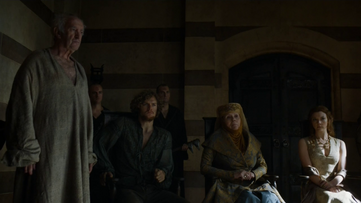 Alto Passero, Loras, Olenna and Margaery stagione 5