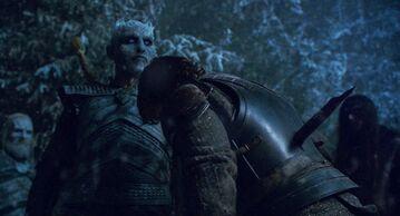 Re della Notte uccide Theon