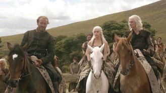 Jorah, Dany e Viserys