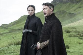 Sansa e Ditocorto lungo il viaggio