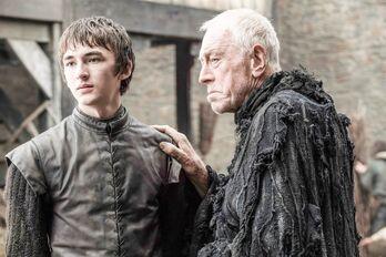 Bran e il Corvo con Tre Occhi