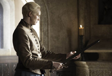 Brienne riceve Giuramento