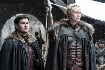 Brienne e Podrick Winterfell