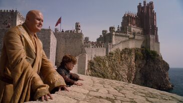 Tyrion e Varys Fortezza Rossa