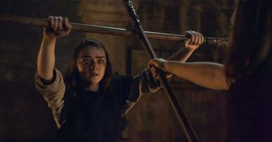 Arya vs the Waif