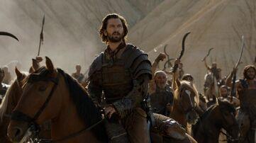 Daario a cavallo S6