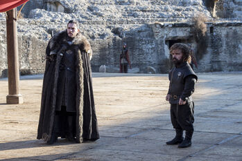 Jon e Tyrion Fossa del Drago
