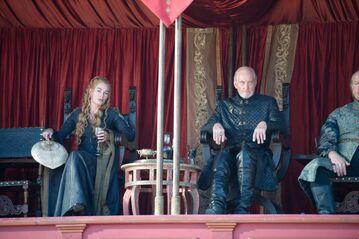 Cersei e Tywin processo per combattimento