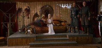 La corte di daenerys stagione 3