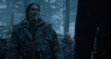 Mance davanti a Stannis S4